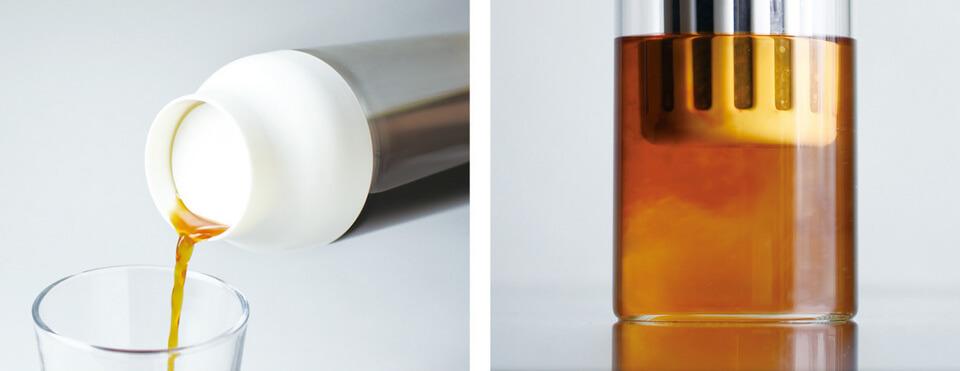KINTO(キントー)の新製品、CAPSULE(カプセル)コールドブリューカラフェで充実水出しLIFE