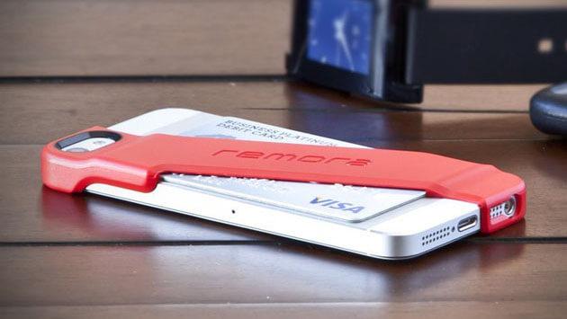 iPhoneカード収納ケース