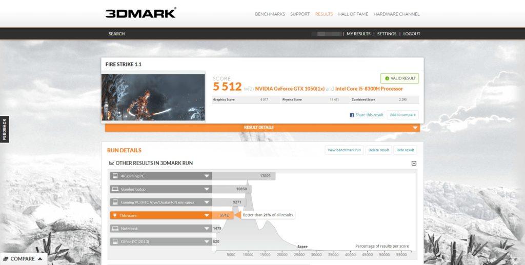 PavilionGaming15Standard_3DMark_FirstStrike